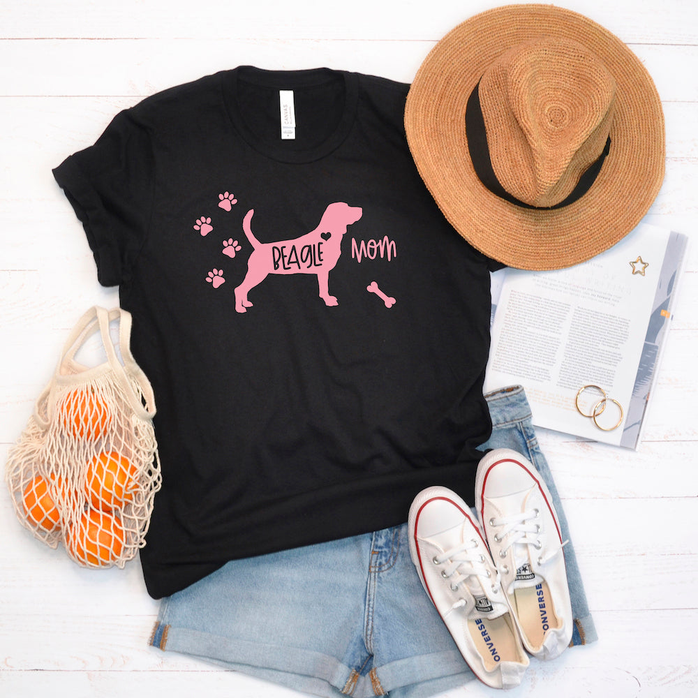Funny Beagle Shirt, Women Men, Beagle Lover Gift, Beagle Top, Cute Beagle Graphic, Crazy Beagle Lady