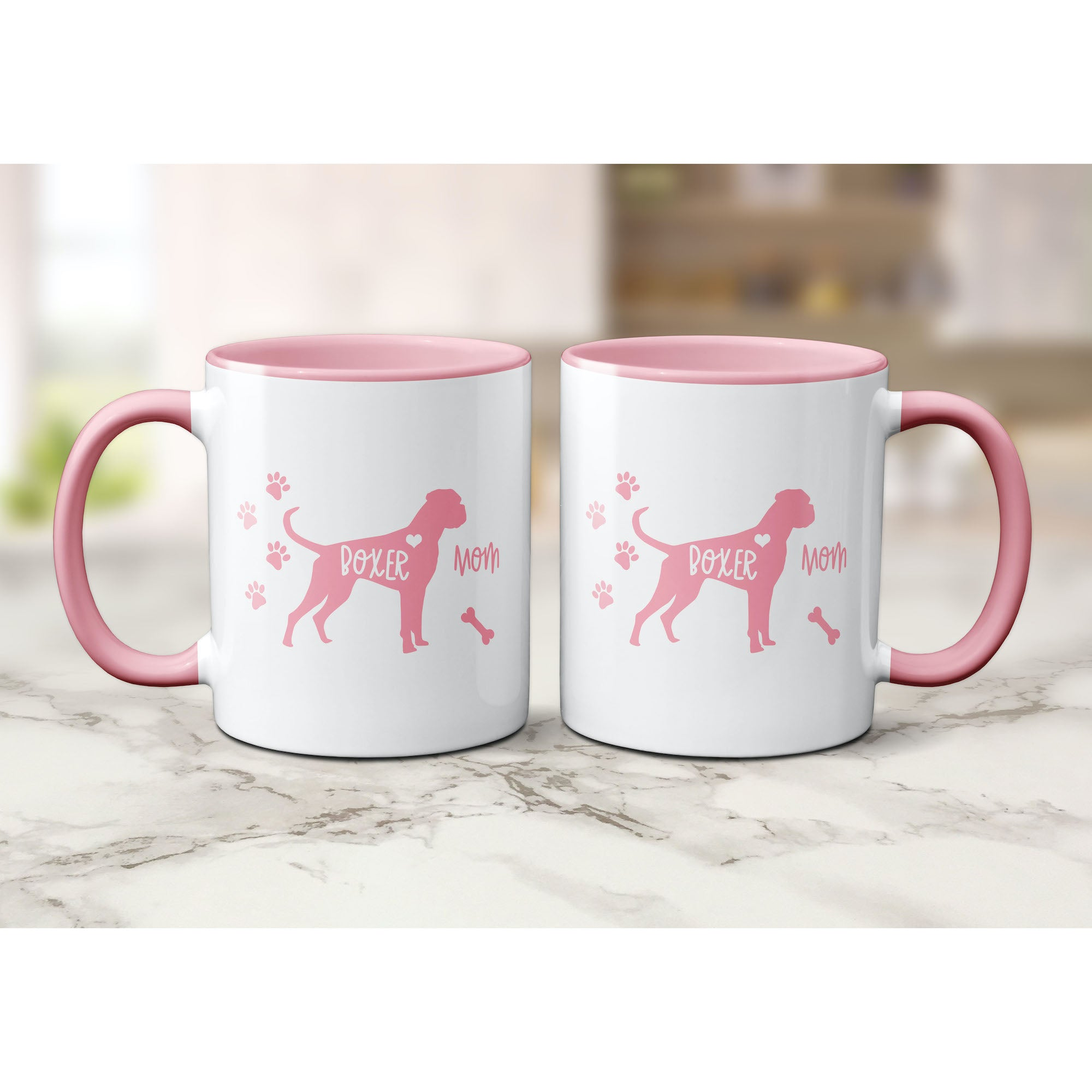 Funny Boxer Mug, Boxer Mom, Boxer Lover Gift, Cute Boxer Graphic, Coffee Mug