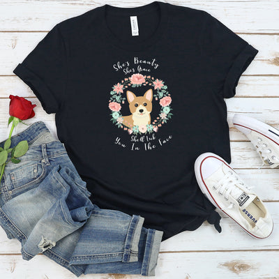 Funny Corgi Shirt, Women Men, Corgi Lover Gift, Corgi top, Cute Corgi Graphic, Crazy Corgi Lady
