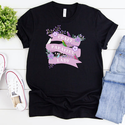 Funny Parakeet Shirt For Women, Parrot Lover Gift, Cute Parakeet T-shirt, Budgie, Parakeet Graphic