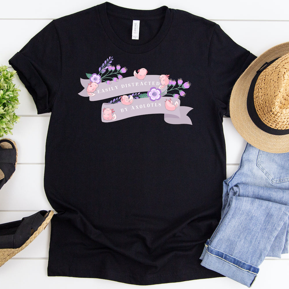 Funny Axolotl T-Shirt, Women Men, Axolotl Lover Gift, Cute Axolotl Graphic, Axolotl Top, Axolotl Tee