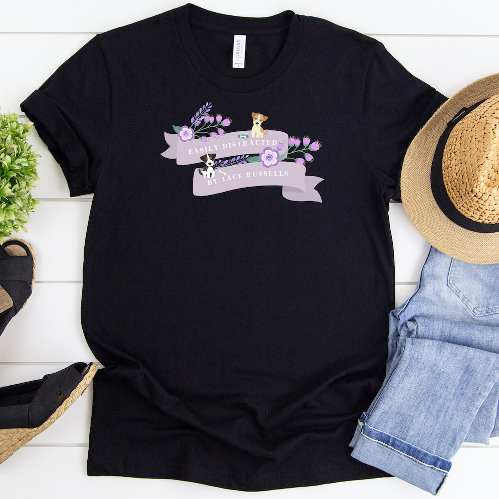 Funny Jack Russell Shirt, Women Men, Jack Russell Lover Gift, Cute Jack Russell Graphic