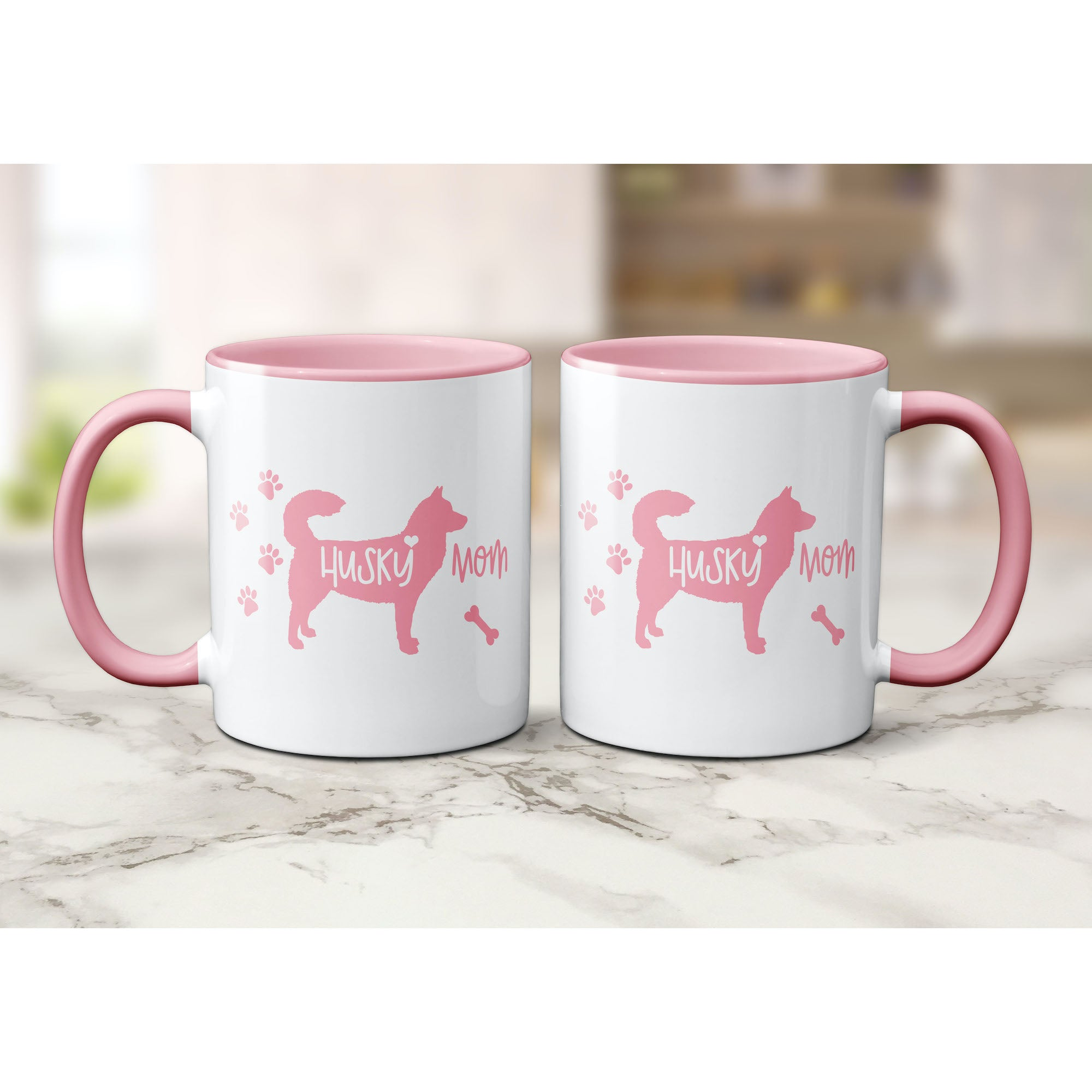 Funny Husky Mug, Husky Mom, Husky Lover Gift, Cute Husky Graphic, Coffee Mug