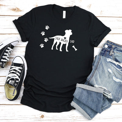 Funny Jack Russell Shirt, Jack Russell Dad, Jack Russell Lover Gift, Cute Jack Russell Graphic