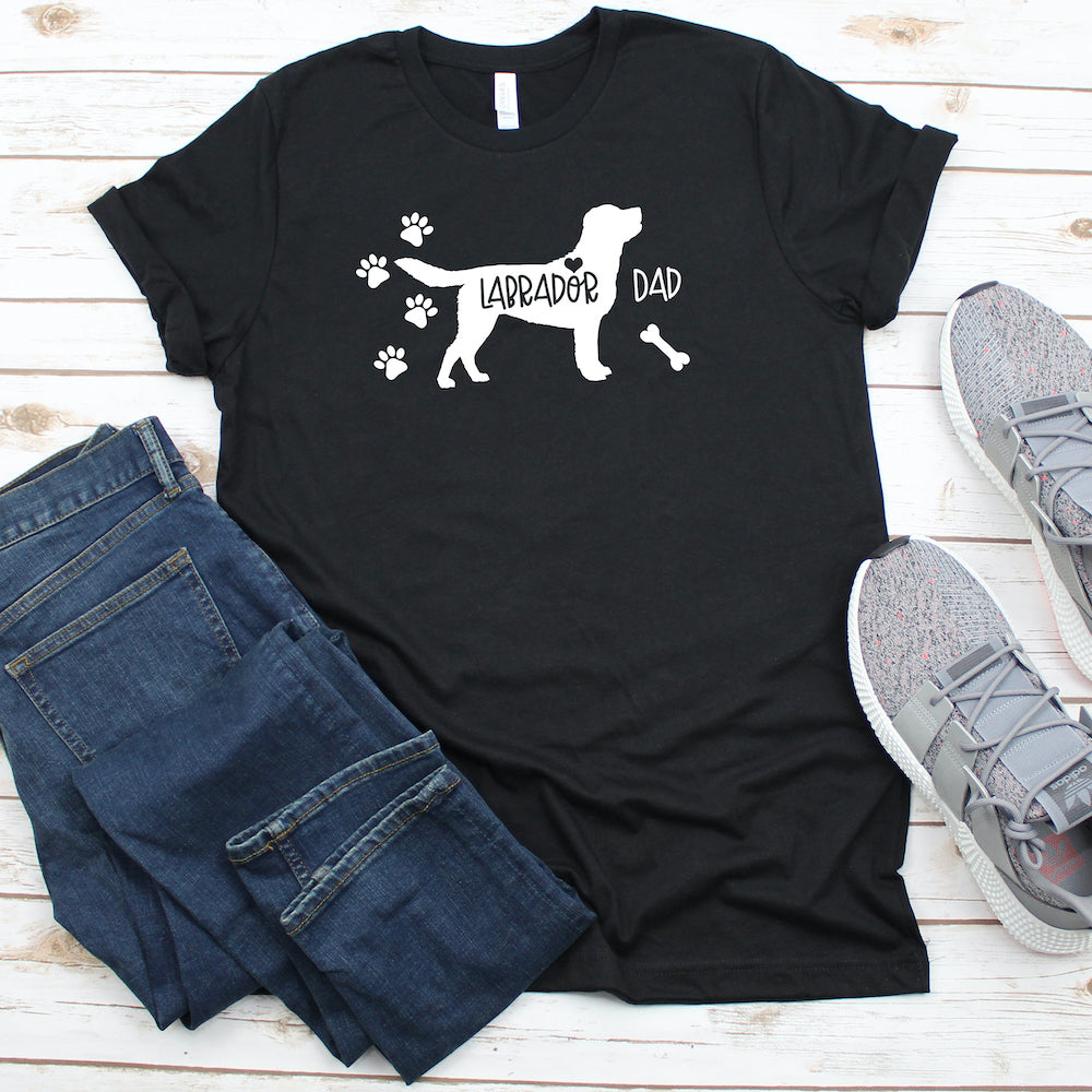 Funny Labrador Shirt, Labrador Dad, Labrador Lover Gift, Cute Labrador Graphic Tee, Explore Now!
