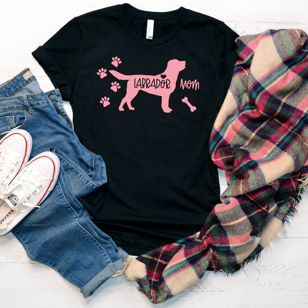 Funny Labrador Shirt For Women, Labrador Lover Gift, Cute Labrador Graphic Tee, Crazy Labrador Lady