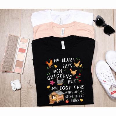 FUNNY CHICKEN SHIRT, WOMEN MEN, CHICKEN LOVER GIFT, CHICKEN TOP, CUTE CHICKEN GRAPHIC