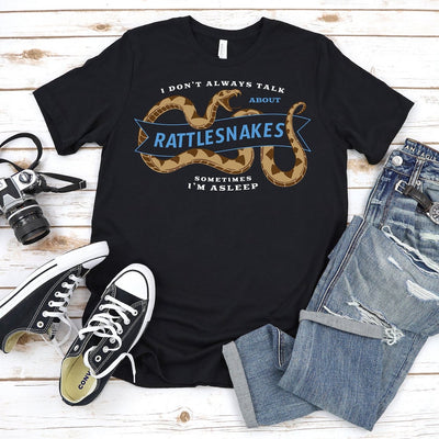 Rattlesnake Shirt, Great Reptile Lover Gift For Men and Women, Cute Rattlesnake Graphic