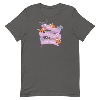 Fox T Shirt, Great Fox Lover Gift For Women and Men, Cute Fox Graphic, Fox Top, Crazy Fox Lady