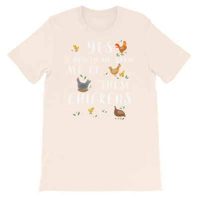 Funny Chicken Shirt, Women Men, Chicken Lover Gift, Cute Bird T-shirt, Chicken top, Chicken Graphic