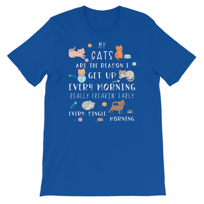 Funny Cat Shirt, Women Men, Cat Lover Gift, Crazy Cat Lady, Cat T-shirt, Cute Cat Graphic