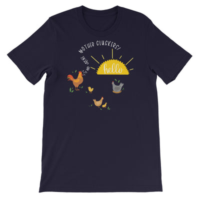 Funny Chicken Shirt, Women Men, Chicken Lover Gift, Chicken Graphic, Rise And Shine Mother Cluckers
