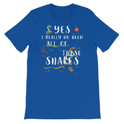 Snake Shirt, Great Reptile Lover Gift For Women and Men, Cute Snake Graphic, Snake Top