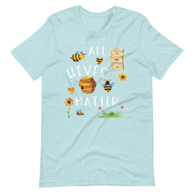 All Hives Matter Funny Beekeeper Beekeeping Shirt For Women And Men, Honey Bee Shirt, Bee Lover Gift, Cute Bee Graphic