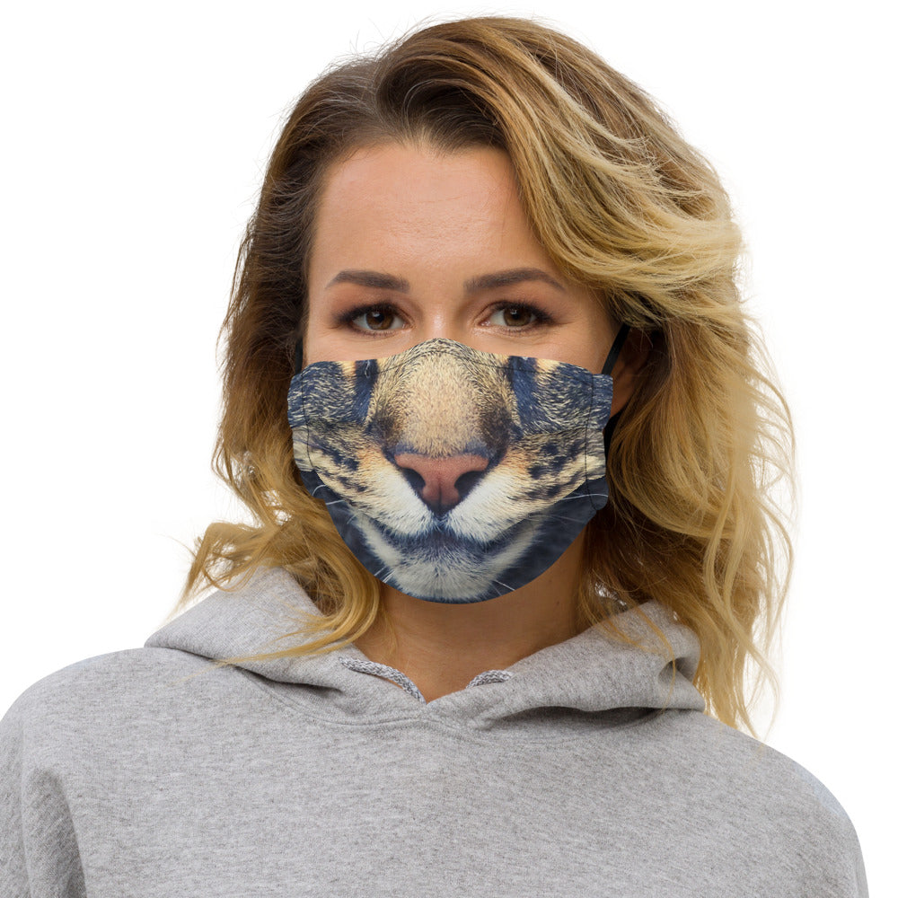 Cute Cat Face Mask