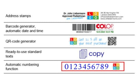 Buy Colop E-Mark Electronic Marking Device - Pocket Printer ( White ) - Sample - GiftWaley.com