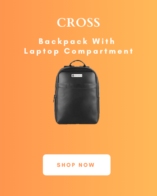 Cross Backpack With Laptop Compartment