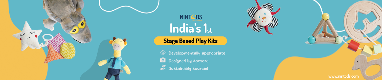 Buy Nintods Skill Developmental Play Kit Toys for Newborn to Upto 2 Years - GiftWaley.com
