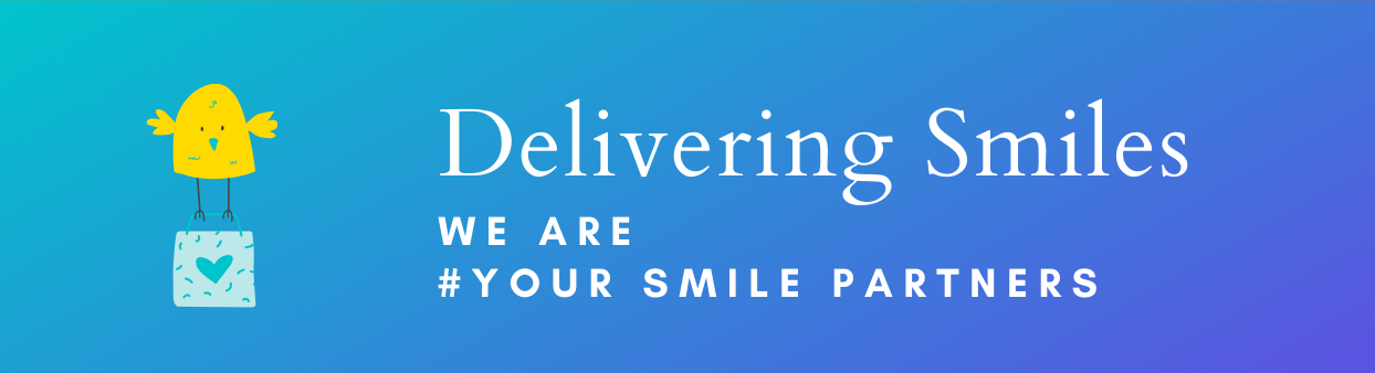 Delivering smiles with gifts