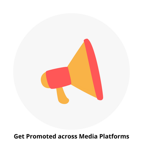 Get Promoted across Media Platforms - Brand Collaborations - GiftWaley.com