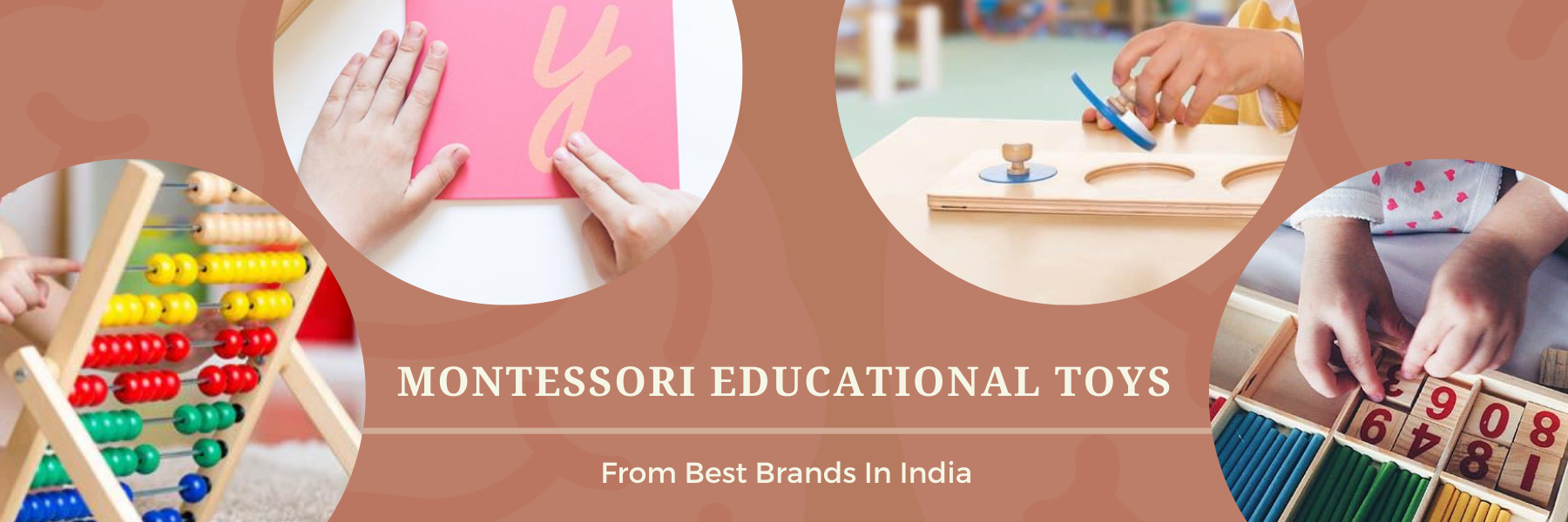 Montessori Educational Toys for Toddlers and Kids Online at GiftWaley