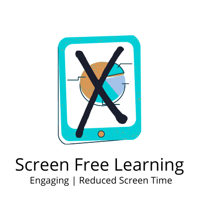 Screen Free Learing for Kids Online at GiftWaley