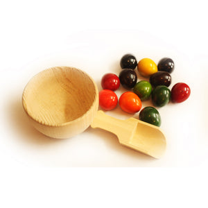 Buy Aatike Cup & Eggs Balancing Wooden Channapatna Toy - Game - Online on GiftWaley.com