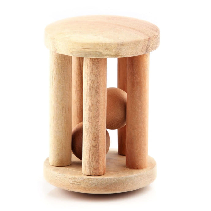 Buy Ariro Cylinder Rattle With Wooden Ball - GiftWaley.com