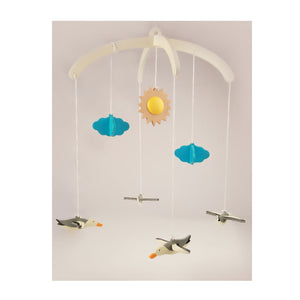 Buy Ariro Seagulls Wooden Mobile Toy - Feature - GiftWaley