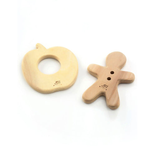 Buy Ariro Teethers Apple And Ginger Breadman - GiftWaley.com