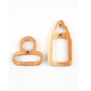 Buy Ariro Teethers Pacifier And Milk Bottle - GiftWaley.com