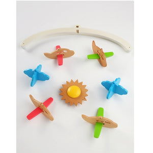 Ariro Wooden Wind Chimes Mobile Planes