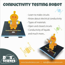 Load image into Gallery viewer, Box of Science Conductivity Testing Robot Kit