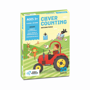 Chalk & Chuckles Clever Counting Puzzle Game