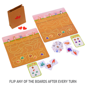 Chalk & Chuckles Dig Up Mental Tracking Board Game