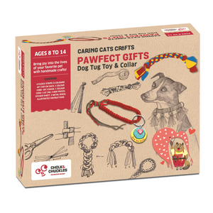 Chalk & Chuckles Dog Tug Toy and Collar Activity Game