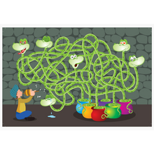 Load image into Gallery viewer, Chalk & Chuckles Moody Snakes Maze and Puzzle Game
