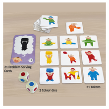 Load image into Gallery viewer, Chalk & Chuckles Pajama Party Logical Cards Game