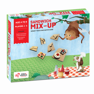 Chalk & Chuckles Sandwich Mixup Match Puzzle Game
