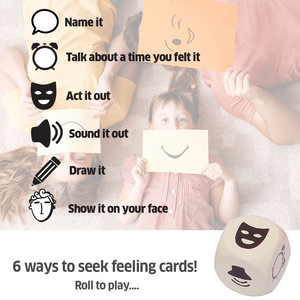 Chalk & Chuckles Seek Four Expressions Card Game
