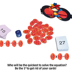 Chalk & Chuckles Super Math Spy Cards Game