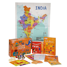 Load image into Gallery viewer, CocoMoco Explore India Activity Kit Game