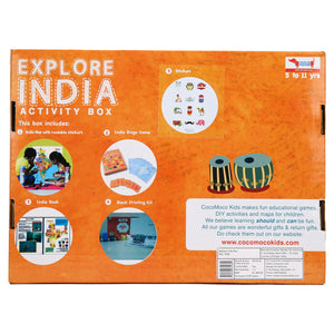 CocoMoco Explore India Activity Kit Game