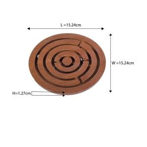 Buy Desi Toys Labyrinth, Swirl, Bada Bhool Bhulaiya Maze Game - GiftWaley.com