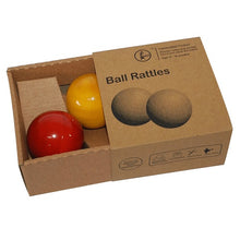 Load image into Gallery viewer, Buy Fairkraft Colourful Wooden Rattle Balls - Set Of 2 - GiftWaley.com
