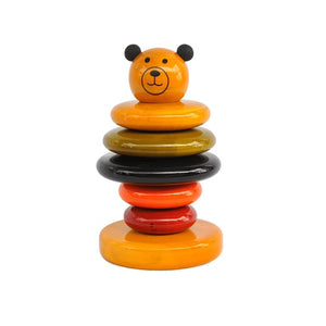 Buy Fairkraft Colourful Wooden Stacker - Cubby - GiftWaley.com