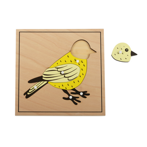 Buy HABA Animal Bird Puzzle Montessori Material - GiftWaley.com