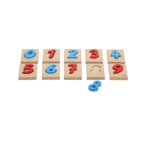 Buy HABA Numeric Wooden Blocks Numbers Learning Set - GiftWaley.com