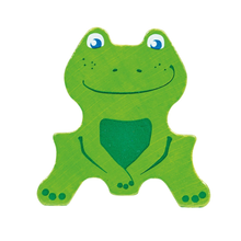Load image into Gallery viewer, Buy HABA Parquet 3D Frogs Wooden Stacker Toy - GiftWaley.com