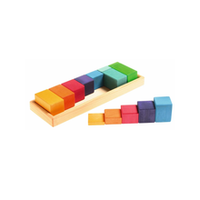 Load image into Gallery viewer, Buy HABA Shapes and Colours Building Set Wooden Toy - GiftWaley.com